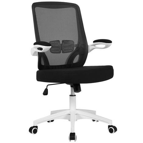 Yaheetech Bürostuhl Ergonomischer Schreibtischstuhl mit verstellbaren Armlehnen Bürodrehstuhl Gaming Stuhl Racing Stuhl