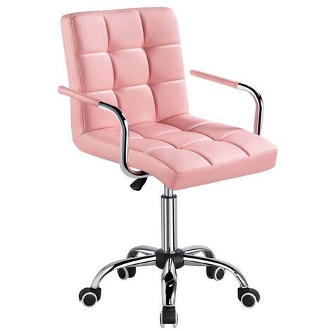 Yaheetech Bürostuhl Schreibtischstuhl Drehstuhl Höhenverstellbar Chefsessel mit Rollen