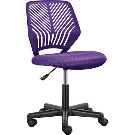 """main image of """"Yaheetech Chaise de Bureau, Chaise d'Ordinateur, Fauteuil Bureau Ergonomique, Pivotant, Fonction Réglage, Style Moderne, Charge de 136kg"""""""