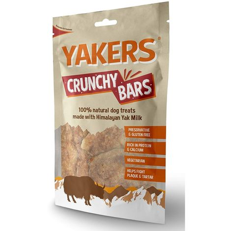 Yakers Crunchy Bars Dog Treat (80g) (May Vary)
