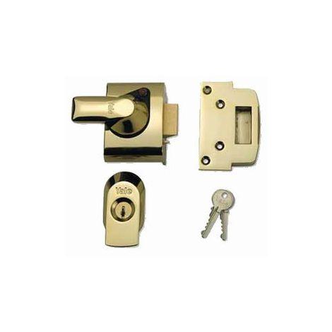 Yale BS4 Max Security Nightlatch - Emergency Escape Polished Brass