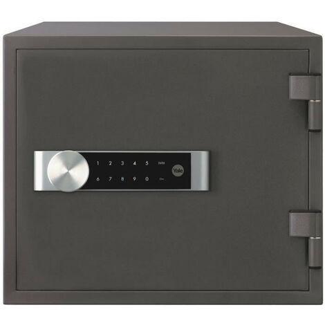 """main image of """"YALE Coffre-fort ignifuge a serrure electronique Certifie anti feu NT FIRE 017, format domestique H.35 x l.41 x P.36 cm 19 L"""""""