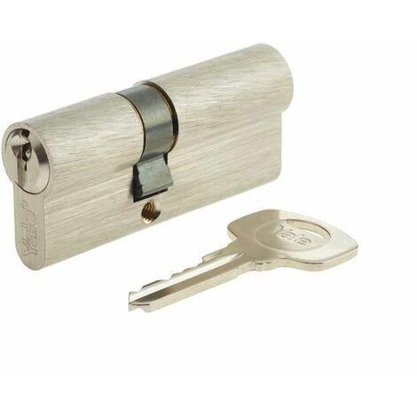 YALE Cylindre de Serrure - Pour Porte Extérieure/Entrée - 5 Goupilles - 3 Clés - 30 x 40 mm