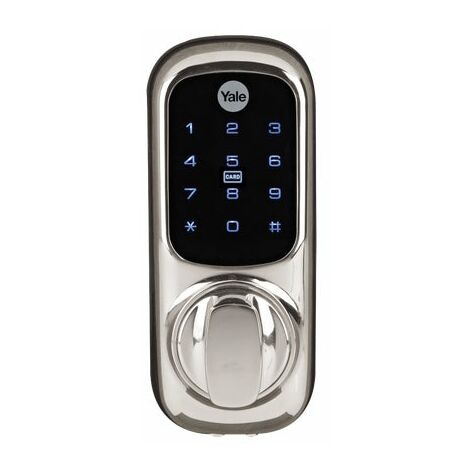 Yale Keyless Connected Smart Door Lock - Chrome YD-01-CON-NOMOD-CH