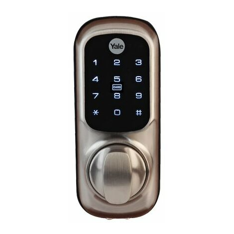 Yale Keyless Connected Smart Door Lock - Satin Nickel YD-01-CON-NOMOD-SN