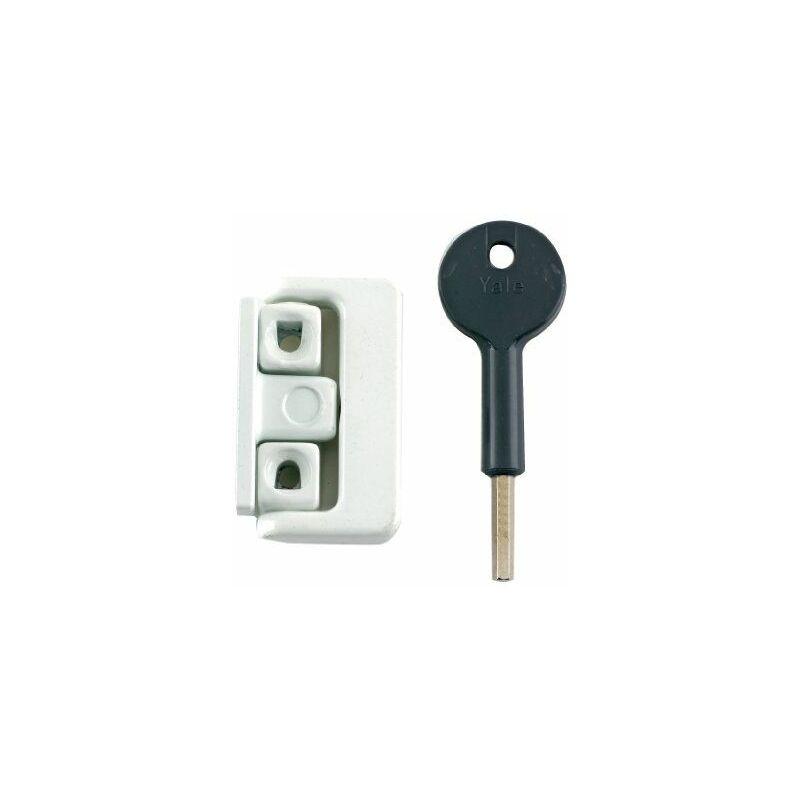 Yale Fenêtre automatique Lock-blanc-Pack 2