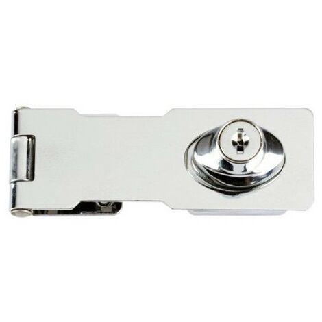 Yale Locks Y116/115/BC Locking Hasp Chrome Plated 116mm