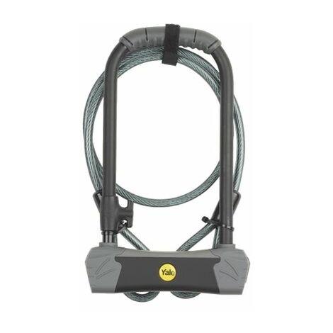 YALE Maximum Security U Bike Lock with cable