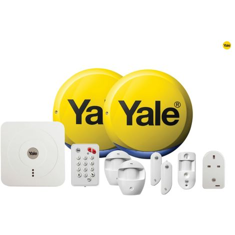 YALE SMART HOME ALARM, VIEW & CONTROL KIT