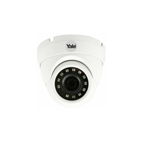 Yale Smart Home CCTV HD1080p Dome Camera SV-ADFX-W