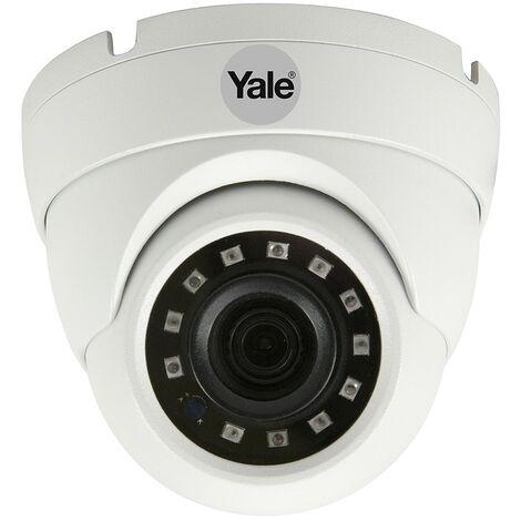 Yale Smart Living - SV-ADFX-W - Caméra dôme filaire 1080p - Blanc