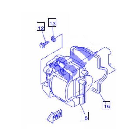 Yamaha 1PN-E1173-00 la arandela de sellado - Triciudad 125 14-16