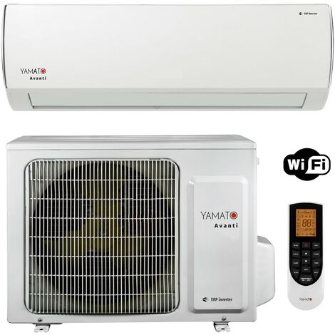 YAMATO Climatiseur réversible Inverter R32 WIFI 12000 BTU mono-split