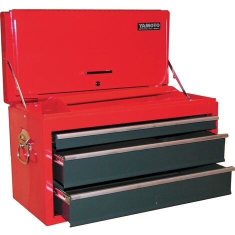 Yamoto 3-DRAWER Tool Chest - Red