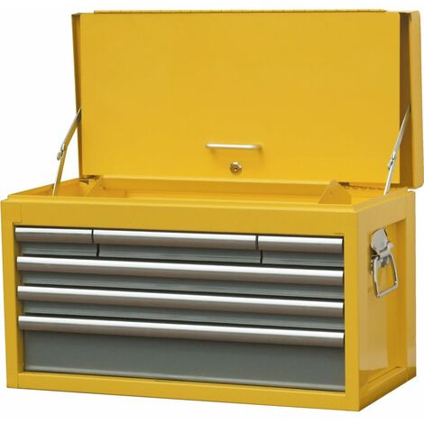 Yamoto 6-DRAWER Tool Chest Yellow/grey