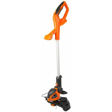 Yard Force 40V 30cm Cordless Grass Trimmer with Adjustable Head, Plant Guard and Wheel Support LT G30W - Bare Unit