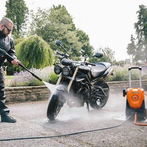 Yard Force - Nettoyeur Haute-Pression avec Canon à mousse et accessoires - 1800w / 130Bar