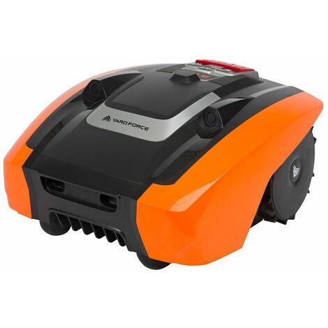 Yard Force - Robot Tondeuse AMIRO400i Connectée avec App avec technologie de capteurs ultrason - 400 m2