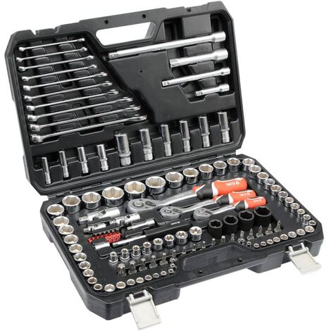YATO 120 Piece Ratcheting Socket Spanner Set YT-38801