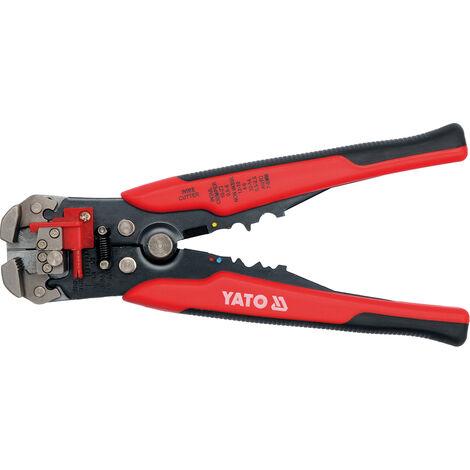 Yato automatic wire stripper, cutter and crimper