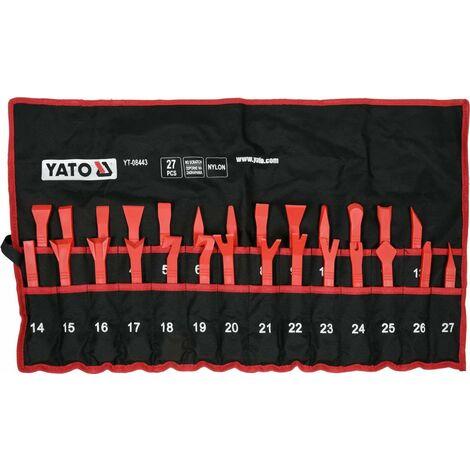 Yato car door panel trim removal tool set, no scratch 27pcs (YT-08443)
