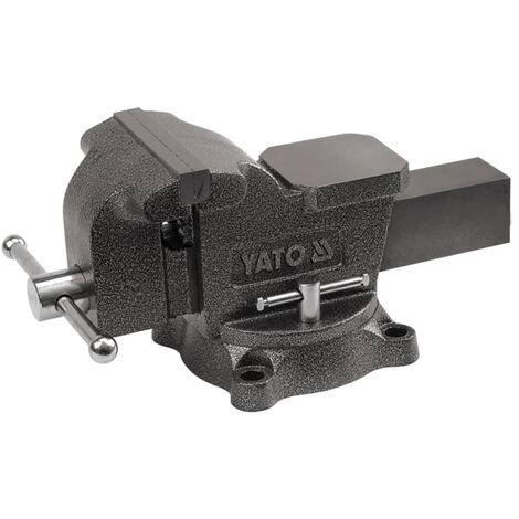 YATO Etau Fonte Parallèle Perceuse Travaux pour Atelier Garage 150/200 mm