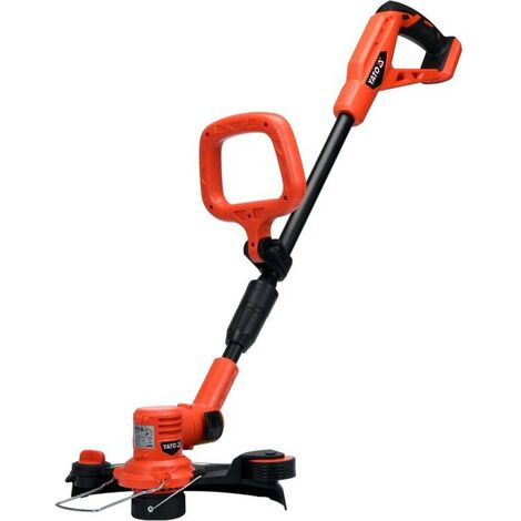 YATO Grass Trimmer without Battery 18V 300mm - Red