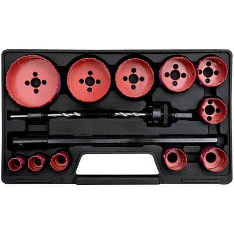 YATO Kit de 15 pièces pour scie cloche YT-3381