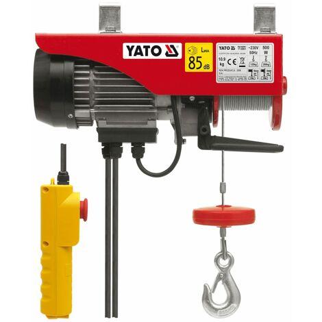 YATO Polipasto eléctrico 500 W 125/250 kg