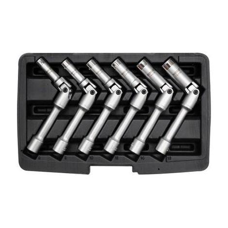 """Yato professional glow plug socket set 3/8"""" extra long sizes 8-16mm (YT-0534)"""