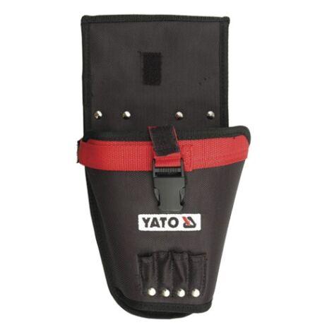 Yato professional heavy duty nylon belt pocket for cordless drill (YT-7413)
