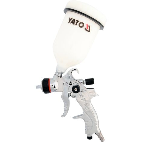 Yato professional HVLP air spray gun with fluid cup 1,4 mm; 0.6 L