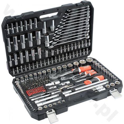 "Yato professional ratchet socket set 1/2"", 1/4"", 3/8"" 216 Pcs"