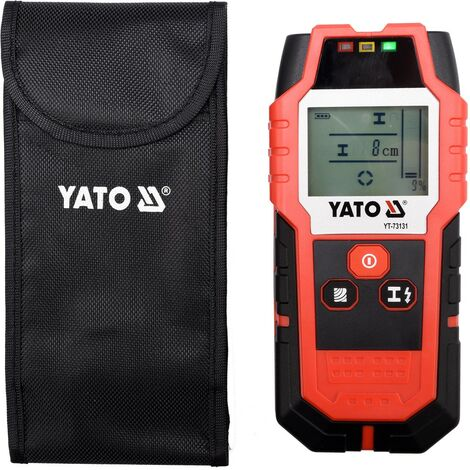 """main image of """"Yato professional stud finder metal pipe live cable detector (YT-73131)"""""""