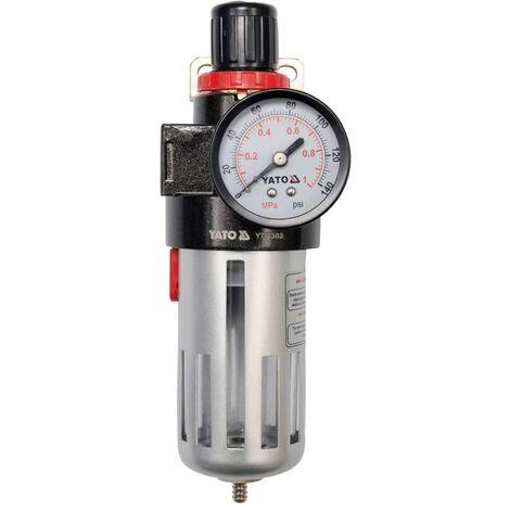 YATO Regulador de presión de aire YT-2383