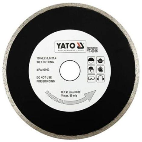 Yato tile cutting diamond disc blade tile cutter 180 mm