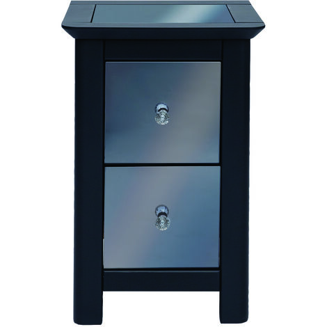 Yearn 2 drawer petite bedside cabinet