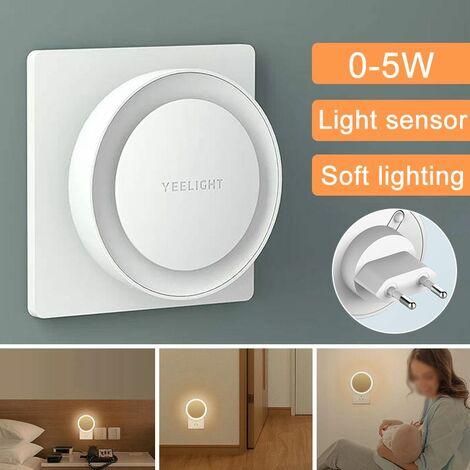Yeelight YLYD11YL Plug-in Light Sensor LED Night Light Ultra-low Power Consumption EU Plug Night Lamp Smart Wall Decoration