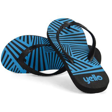 Yello Mens Zig Zag Size 6/11 Flip Flops Assorted