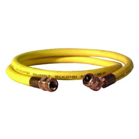 """Yellow hose length 1.50m Ø 1/4"""""""