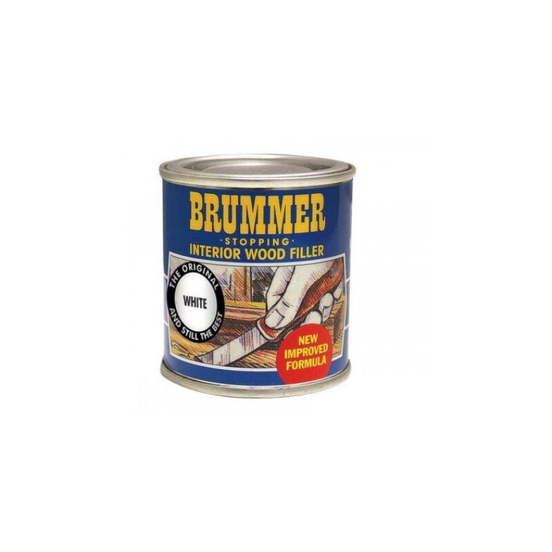 Image of Yellow Label Interior Wood 250g White - Brummer