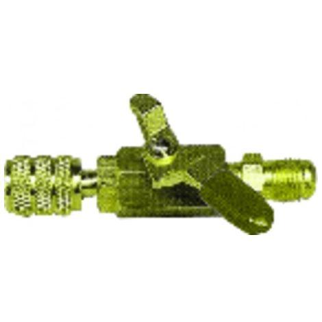 Yellow valve M1/4? x F1/4? - GALAXAIR : SA-14M14F-Y