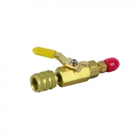 Yellow valve M1/4? x F5/16? - GALAXAIR : SA-14M516F-Y