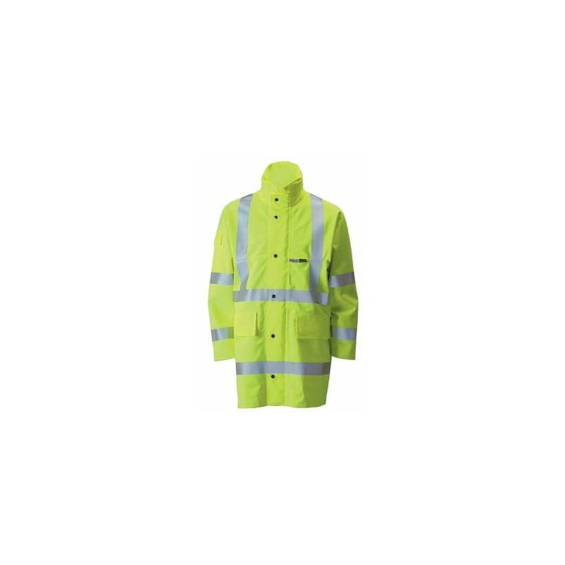 Image of Ballyclare YH10 Gore-Tex Foul Weather Jacket Yellow Reg Small