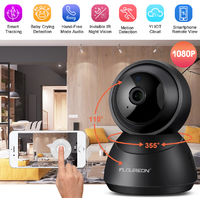 YI Dome IP Camera 1080P Home Camera PTZ Pan Tilt Zoom Night Vision 2-Way Audio