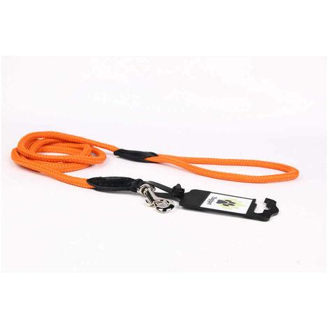 Yogipet - Laisse Corde 0,6/120cm pour Chien - Orange