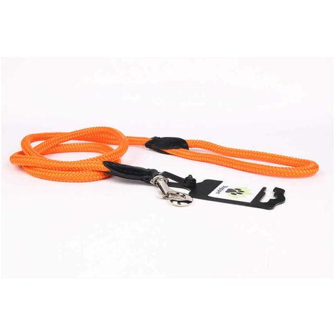 Yogipet - Laisse Corde 0,8/120cm pour Chien - Orange