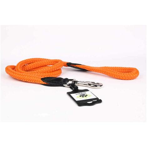 Yogipet - Laisse Corde 1/120cm pour Chien - Orange