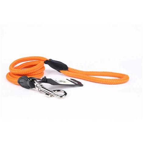 Yogipet - Laisse Corde 1,4/120cm pour Chien - Orange