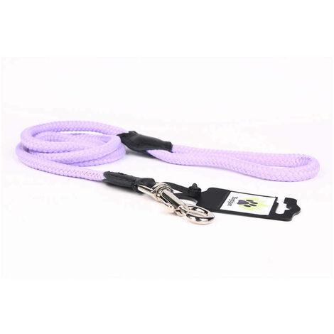 Yogipet - Laisse Corde 1,4/120cm pour Chien - Violet